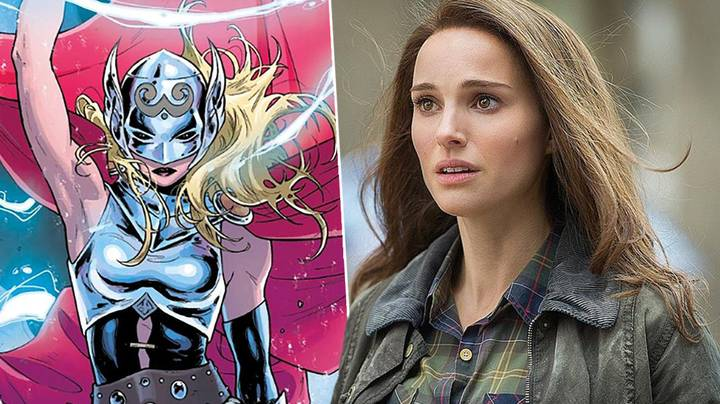 Natalie Portman As The New Thor Revealed In Marvel Marketing Material