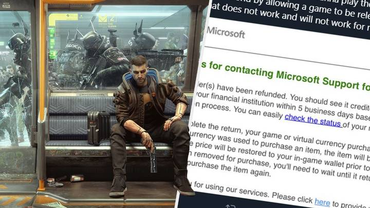 Gamers Angry They Can't Refund 'Cyberpunk 2077' And Still Keep The Game