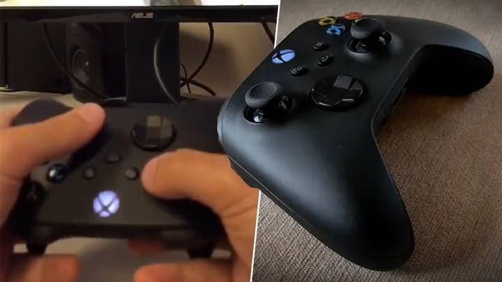Gamer Playing With Upside-Down Controller Is Blowing Minds On TikTok