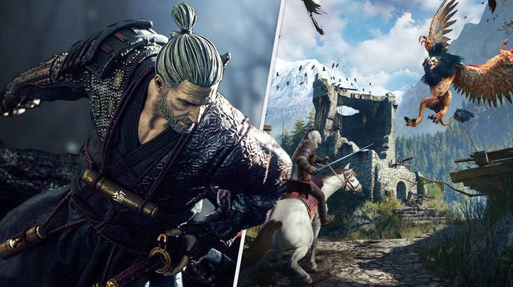 'The Witcher Ronin' Announced, Japanese Folklore-Inspired Adventure Reimagines Geralt As Wandering Samurai
