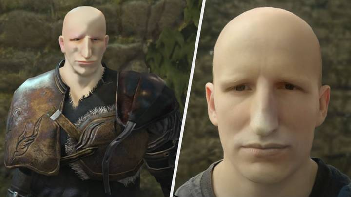 AI Turns 'Dark Souls' Character Faces Into Realistic-Looking People