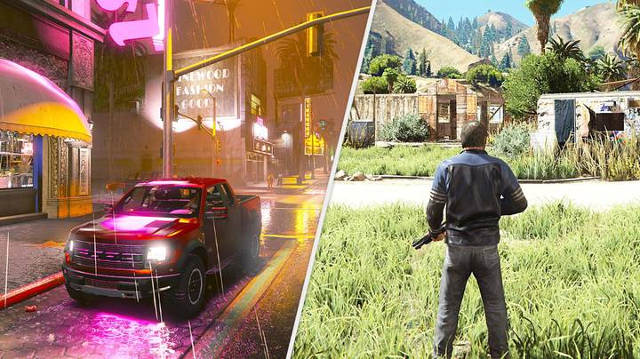 'GTA 5 Remake' Is A Stunning Next-Gen Vision Of The 2013 Classic