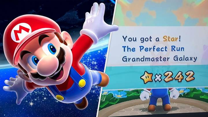 Gamer And Their Dad Finish 10-Year Quest To Complete Mario Game