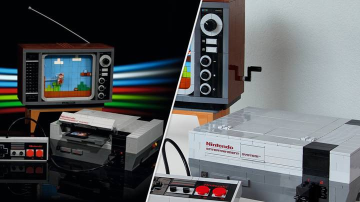 LEGO Announces Gorgeous Retro Nintendo Entertainment System Set