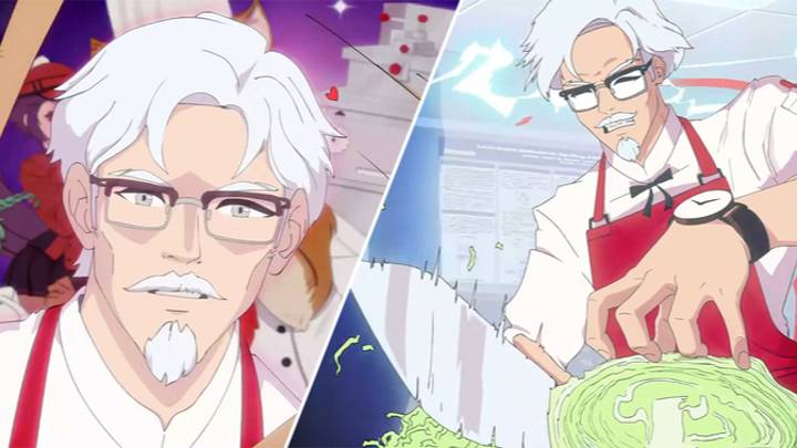 You Can Finally Date Colonel Sanders In This KFC Dating Sim