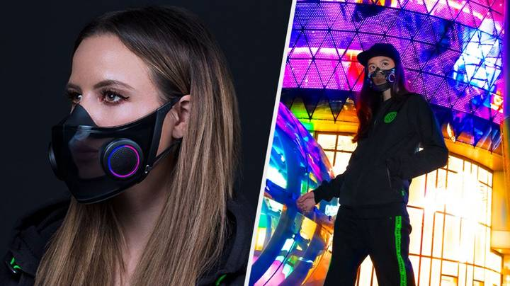 Razer Have Made A Translucent RGB Facemask Called Project Hazel