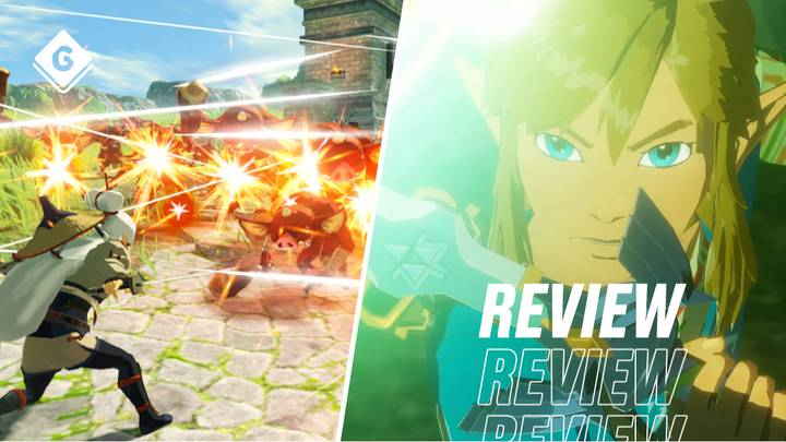 Hyrule Warriors Age Of Calamity Review A Bit Of Zelda Magic Gamingbible