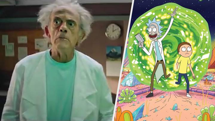 Live-Action 'Rick & Morty' Teased With Christopher Lloyd