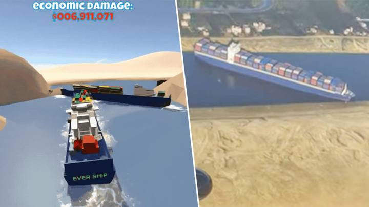 There's Already A Suez Canal Simulator Game, Because Of Course There Is