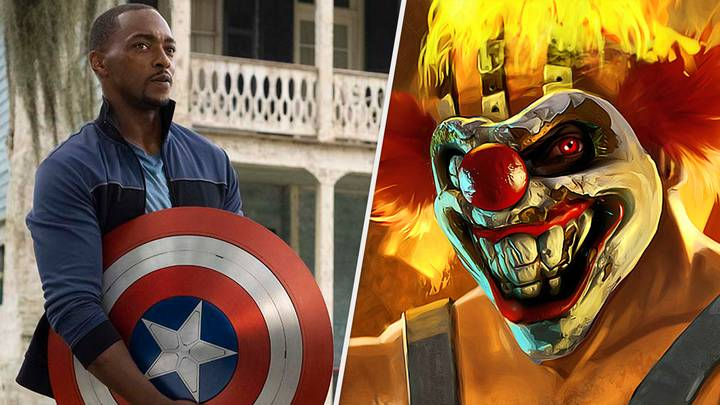 New Captain America Anthony Mackie Will Star As John Doe In Twisted Metal Series