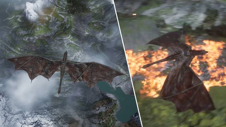 Upcoming Game Lets You Command A Fire Breathing Dragon