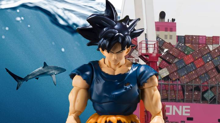 Super Rare Goku Statues Lost At Sea After Major Accident