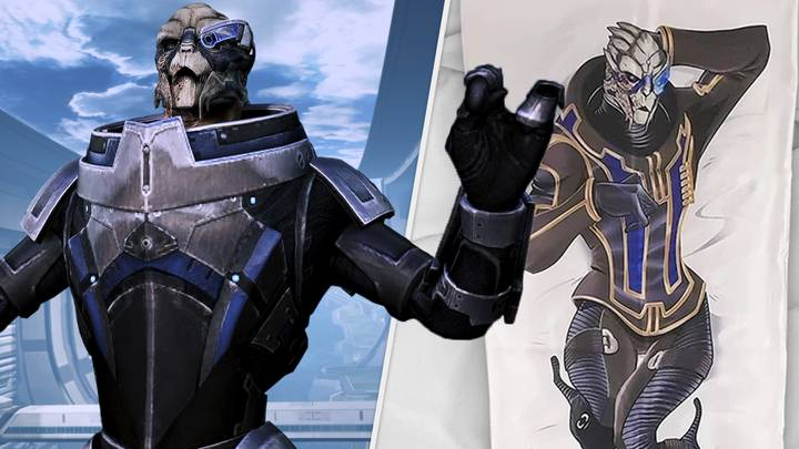 Garrus From Mass Effect Body Pillows Are Here And, Hey, No Judgement