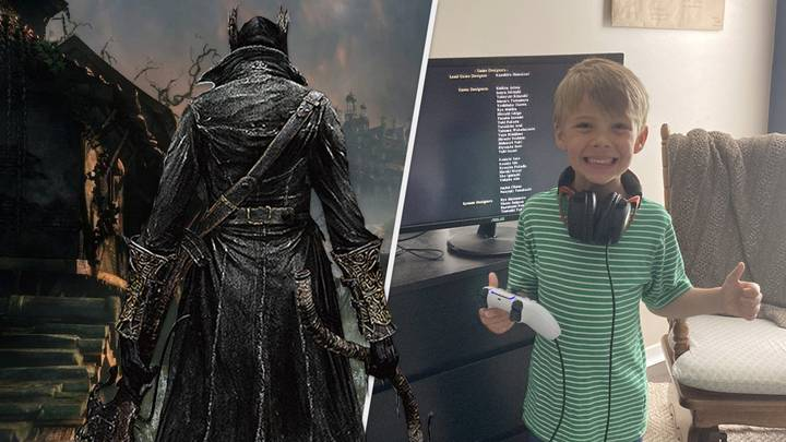 Five-Year-Old Gamer Smashes Through 'Bloodborne' With No Help