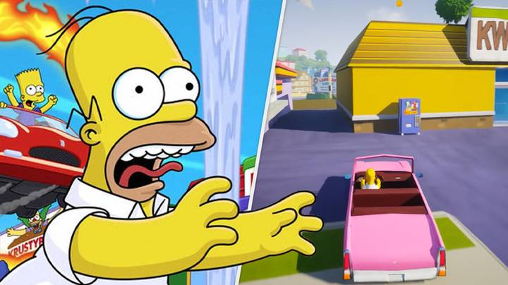 'The Simpsons: Hit & Run' Just Got Remade By One Guy In A Week