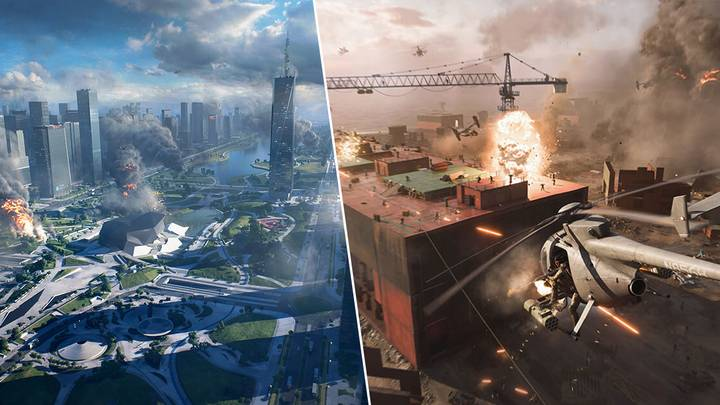 DICE Compares 'Battlefield 2042' Maps To Previous Games, And They're Way, Way Bigger