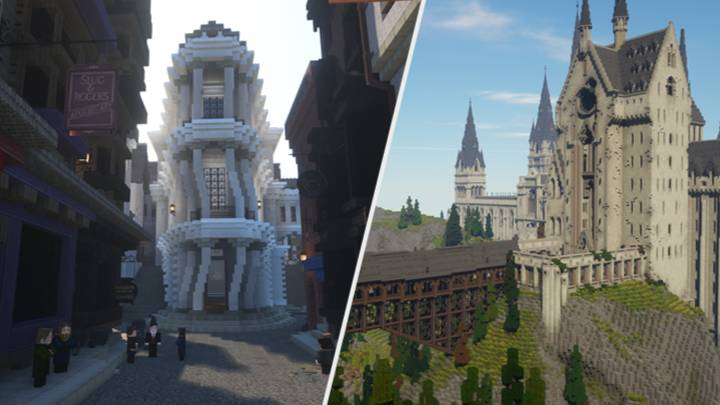 Stunning Open World Harry Potter 'Minecraft' RPG Is Available Now