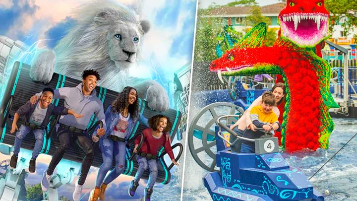 LEGOLAND Has A New 'Flying Theatre' Ride That Will Take Your Breath Away