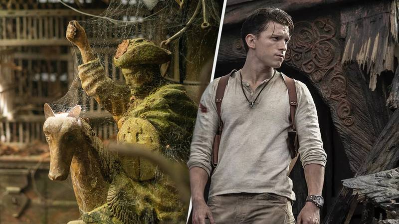 Uncharted Movie Drops New Look At Tom Holland's Upcoming Adventure