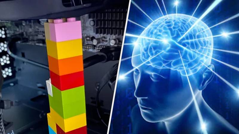Galaxy-Brained Gamer Fixes Busted PC Using Genius LEGO Hack