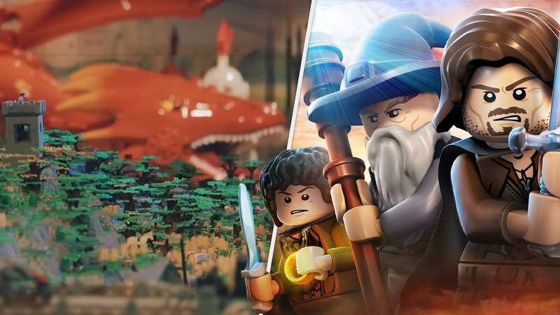 Epic The Lord Of The Rings LEGO Set Breaks Records With 150 Million Pieces
