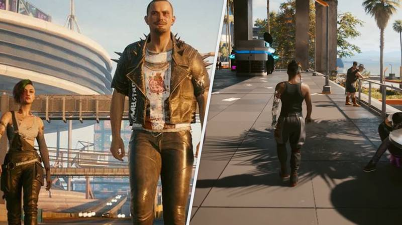 'Cyberpunk 2077' Is Now Playable Entirely In Third-Person