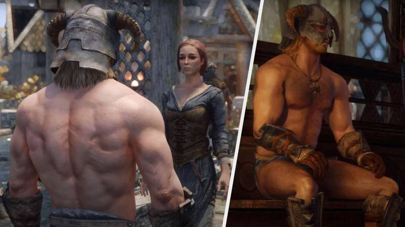 This 'Skyrim' Mod Makes Everyone Thirsty For The Dragonborn