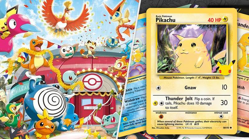 Original Pokémon Cards Are Being Reprinted For 25th Anniversary Celebrations