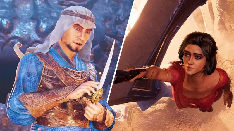 ​'Prince Of Persia: The Sands Of Time Remake' Finally Revealed