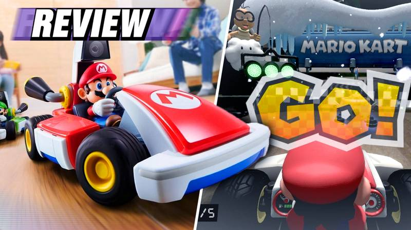 'Mario Kart Live: Home Circuit' Review: AR Goes Vroom, In Your Living Room
