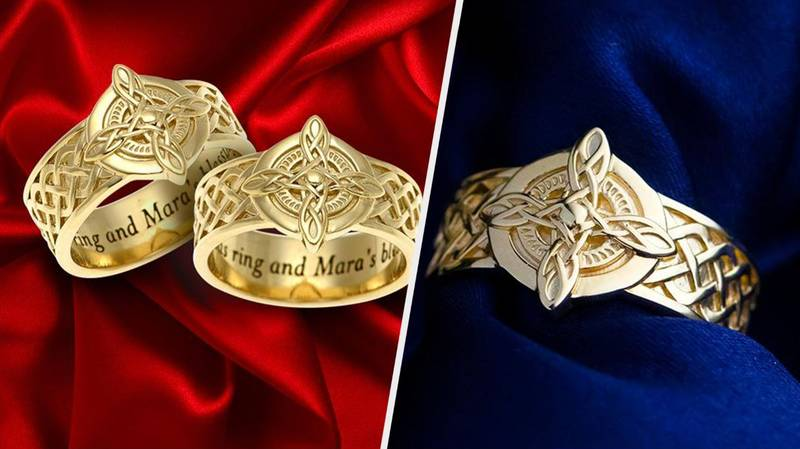 Say 'I Fus-Roh-Do' With These 'Skyrim' Wedding Rings