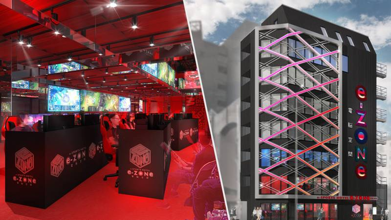 A Massive Esports-Themed Hotel Packed With High-End PCs Opens Next Year