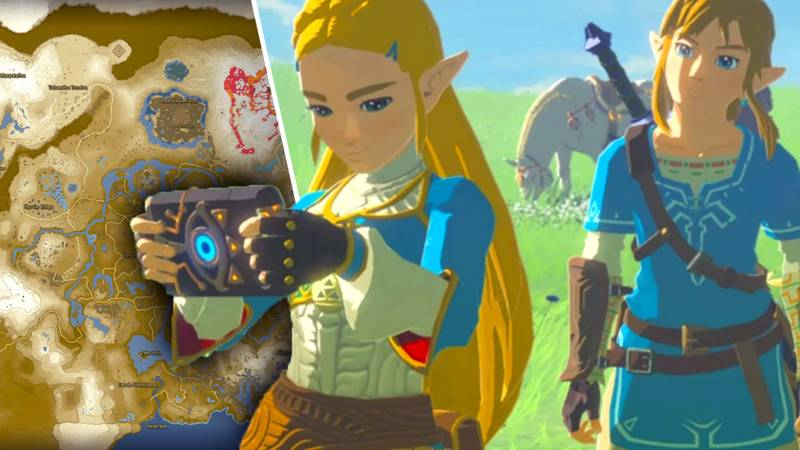 Why 'Zelda: Breath Of The Wild' Has The Greatest Gaming Map, Ever