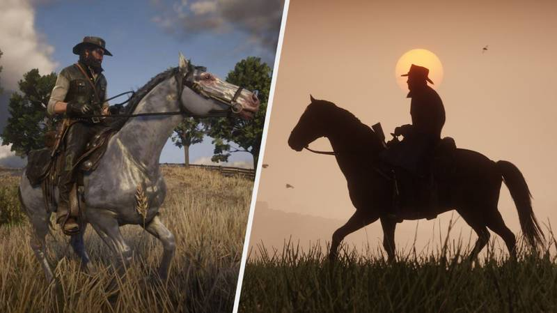 'Red Dead' Players Are Proudly Showing Each Other Their Favourite Horses