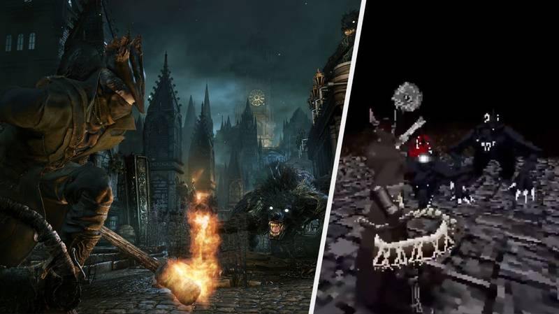 'Bloodborne' Is Being Remade... As A PlayStation One Game