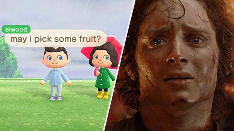 'The Lord Of The Rings' Star Visits Animal Crossing Island For Wholesome Adventure
