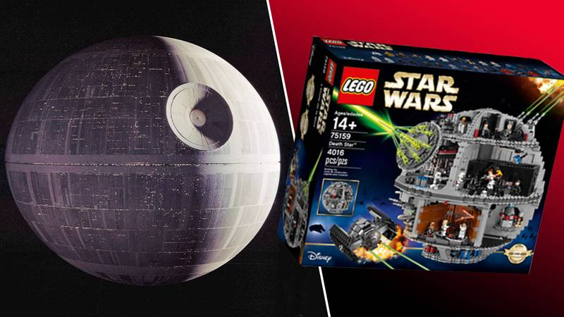 A Huge 11,000 Piece LEGO Death Star Is Rumoured For This Year