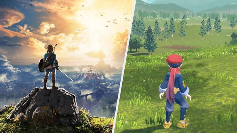 Pokémon Fans Have Spotted A Curious Similarity In Newly Announced Games