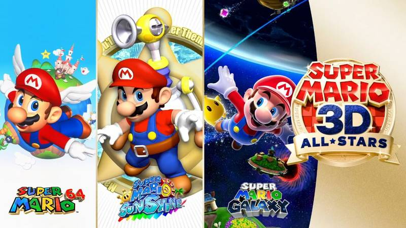'Super Mario 64', 'Sunshine' And 'Galaxy' HD Come To Nintendo Switch This Month
