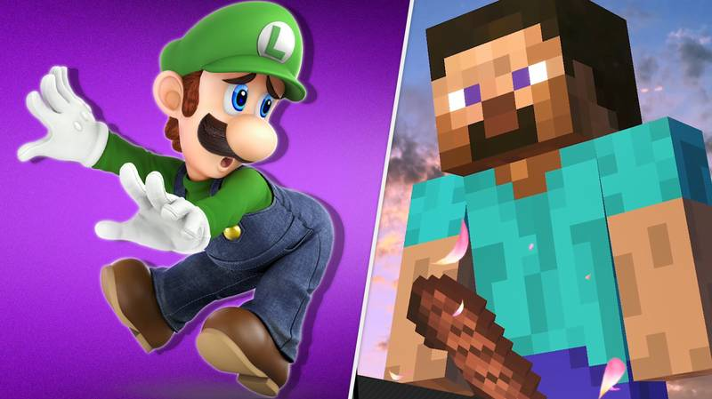 Minecraft Steve's Smash Bros Victory Pose Is Way Dirtier Than It Should Be