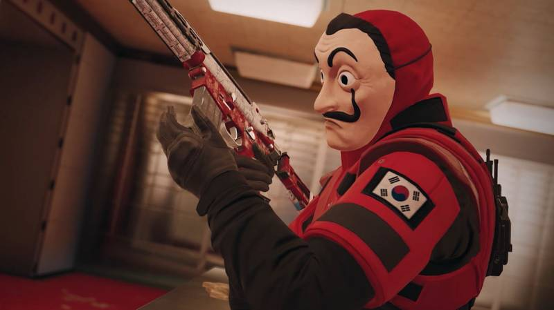 'Rainbow Six Siege' Free Weekend Features A 'Money Heist' Event