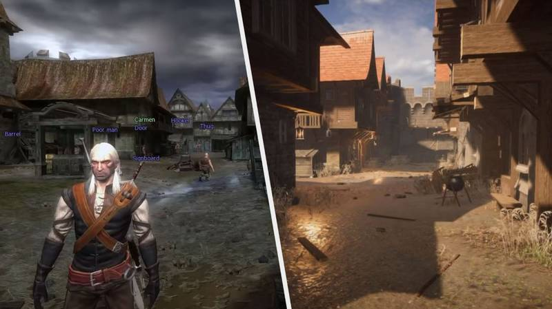 This 'The Witcher' Fan Remake Brings The Original Game Up To Date