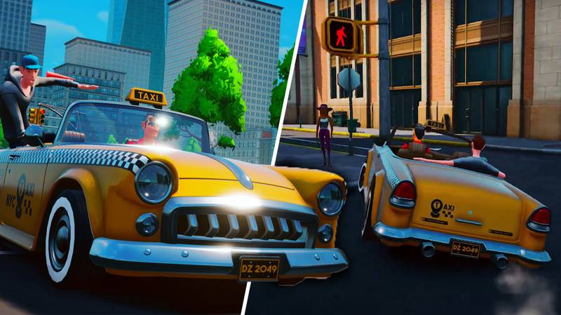 An Incredibly 'Crazy Taxi'-Inspired Game Is Coming Out In Early 2021