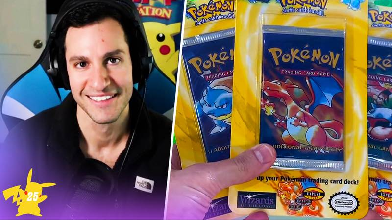 A YouTuber Is Selling $1000 Classic Pokémon Booster Packs For $3.99