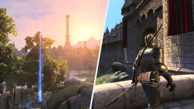 'Oblivion' Has Been Fully Remade In 'Skyrim' Thanks To This Epic Mod