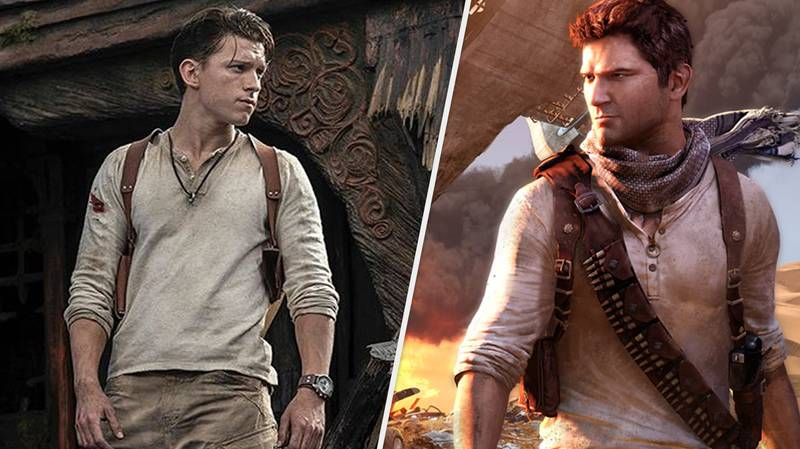 The Internet Reacts To First Look At Tom Holland As Nathan Drake In 'Uncharted'