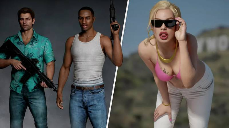 Classic Grand Theft Auto Characters Remastered In Stunning Crossover