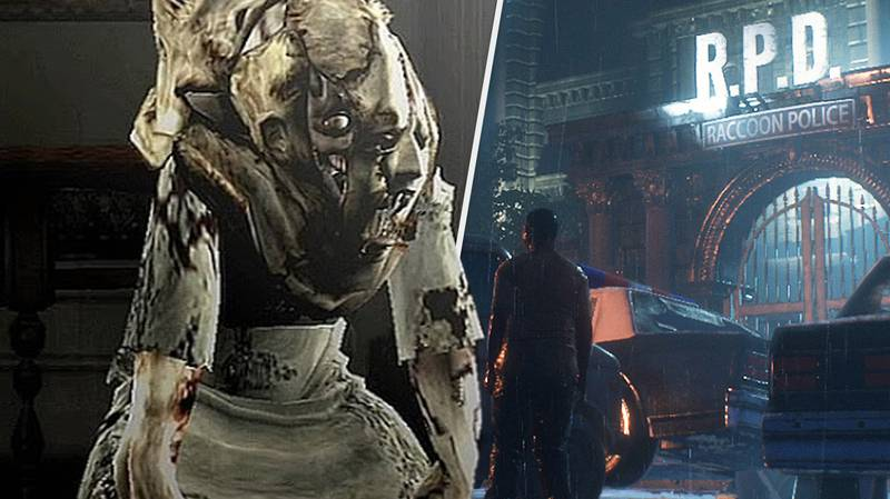 First Look At Resident Evil Movie Reboot's RPD And Gruesome Monsters