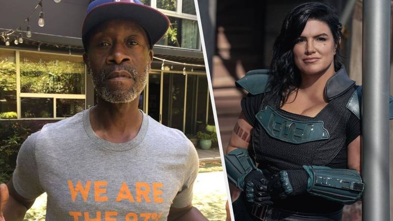 Petition Wants To Replace Gina Carano With Don Cheadle In 'The Mandalorian'
