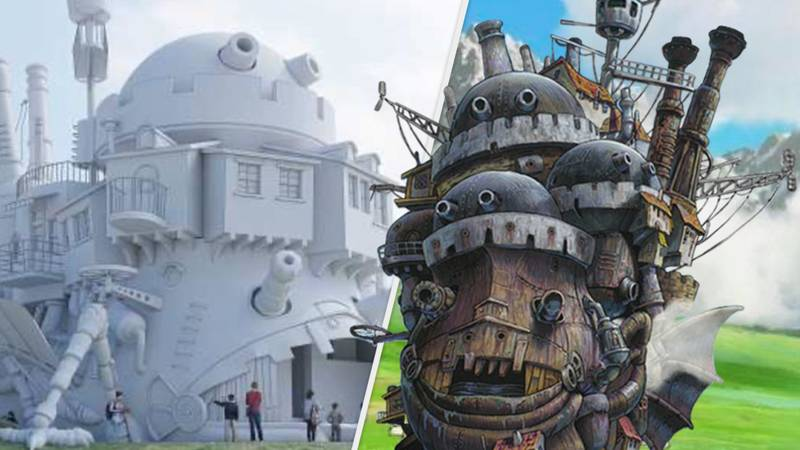Studio Ghibli Is Building A Gorgeous IRL Howl's Moving Castle